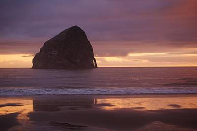 Photograph - Haystack Rock by Angi Parks