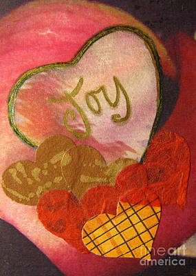 Mixed Media - Heart Of Joy by Patricia Januszkiewicz