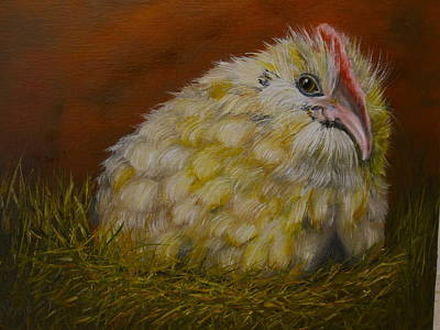 Art Print featuring the painting Hector by Marlyn Boyd