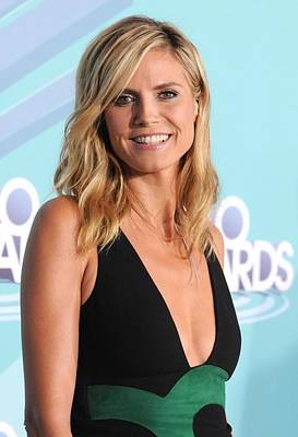 Hollywood Palladium Photograph - Heidi Klum In Attendance For Teennick by Everett