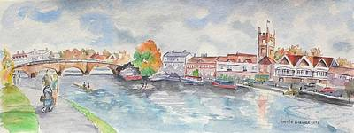Painting - Henley On Thames by Geeta Biswas