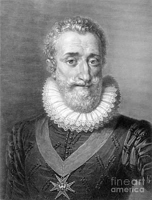 Maltese Photograph - Henry Iv (1553-1610) by Granger