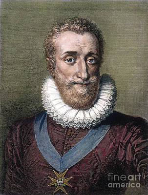 Maltese Photograph - Henry Iv Of France by Granger