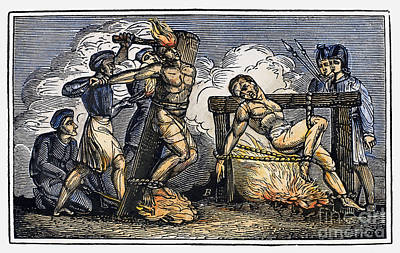 Discrimination Photograph - Heresy: Torture, C1550 by Granger