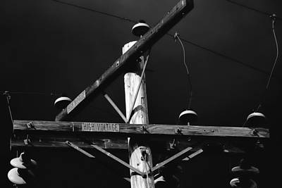 Photograph - High Voltage by Elizabeth  Doran
