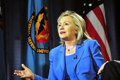 Hillary Clinton, Us Secretary Of State Print by Everett