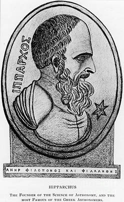 Hipparchus, Greek Astronomer Art Print by Photo Researchers, Inc.