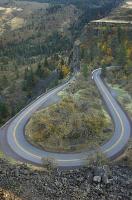 Historic Columbia River Highway Art Print by Alan Majchrowicz