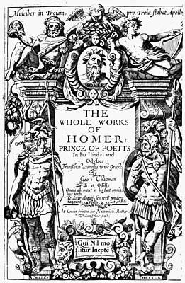 Homer Title Page, 1616 Art Print by Granger