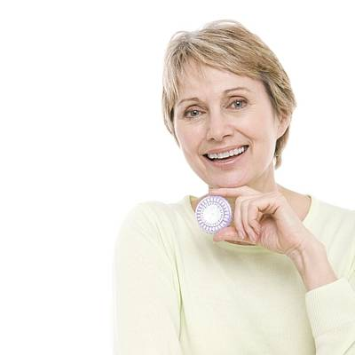 Healthcare And Medicine Photograph - Hormone Replacement Therapy Pills by