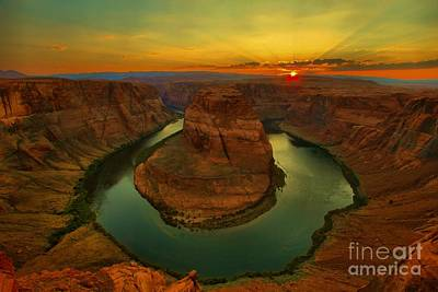 Photograph - Horseshoe Bend by Adam Jewell
