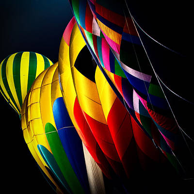 Photograph - Hot Air Balloons by David Patterson