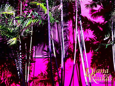 Art Print featuring the photograph Hot Caribbean Day by Diana Riukas