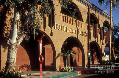 Photograph - Hotel California In Todos Santos Baja Peninsula by John  Mitchell