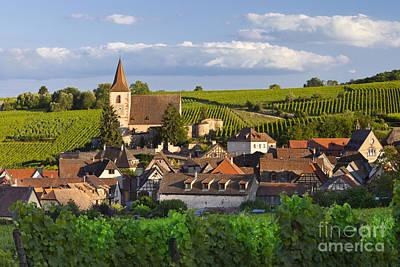 Haut-rhin Photograph - Hunawihr Alsace by Brian Jannsen