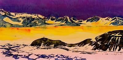 Hut Point Antarctica Art Print by Carolyn Doe