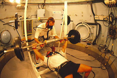 Chamber Pot Photograph - Hyperbaric Training Research by Alexis Rosenfeld