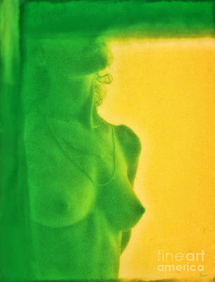 Female Body Digital Art - I Dream In Color 3 by Jeff Breiman