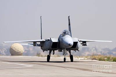 F-15c Eagle Photograph - Iaf F-15c Fighter Jet by Nir Ben-Yosef