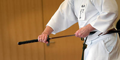Photograph - Iaido _ 2 by Tim Nichols