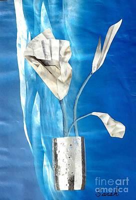 Avant Garde Mixed Media - Ice Bouquet by Sarah Loft