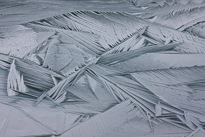 Ice Crystals, Japser National Park, Alberta, Canada Art Print by Mint Images/ Art Wolfe