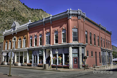 Photograph - Idaho Springs Colorado by David Bearden