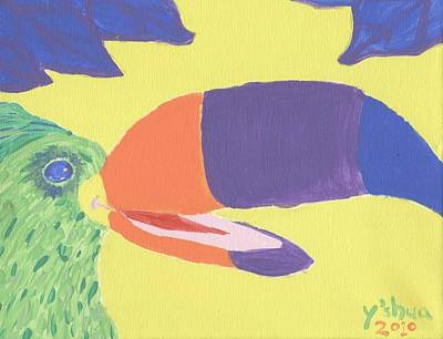 If One Can Toucan Art Print by Yshua The Painter