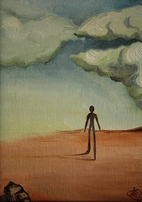 Il Cammino 2010 Art Print by Simona  Mereu