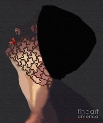 Mixed Media - Illusion In Profile by Catherine Criscuolo