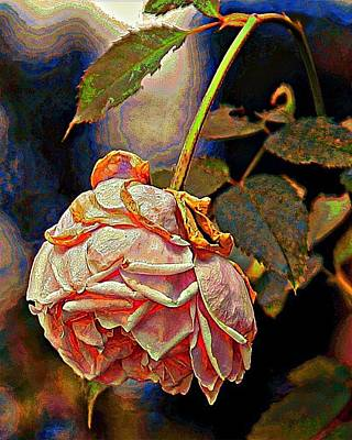 Digital Art - I'm Wilting by Carrie OBrien Sibley