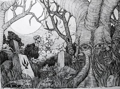 Drawing - In My Garden  by Mariusz Zawadzki