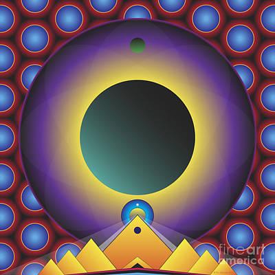 Mindscape Digital Art - In The Mind's Eye by Ken Schneider