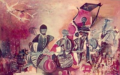 Indian Festival Art Print by Satyajit Roy ArtDecor