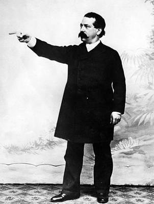 Industrialist Samuel Gompers, President Art Print by Everett