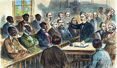 Integrated Jury, 1867 Art Print by Granger