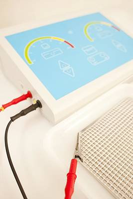 Iontophoresis Equipment Art Print