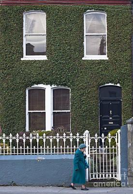 People Photograph - Irish Green by Andrew  Michael