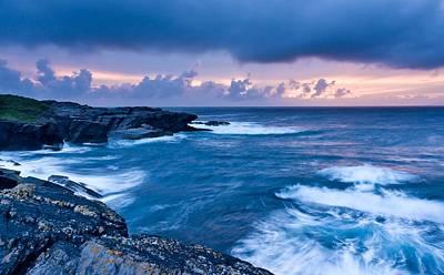 Landscape Photograph - Irish Sunset by Maciej Markiewicz