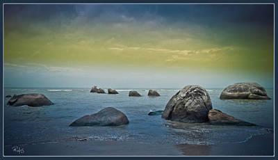 Photograph - Iron Grey Rocks by Allan Rufus