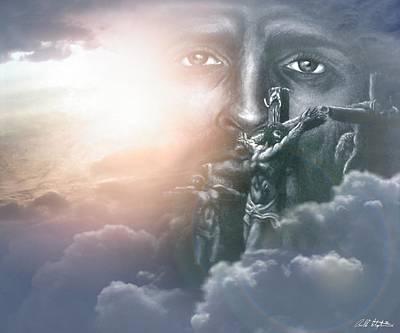 Isaiah's Vision Art Print by Bill Stephens
