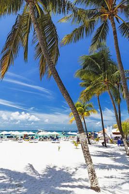 Isla Mujeres Beach Scenic  Art Print