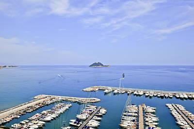 Ligurian Sea Photograph - Island Gallinara by Joana Kruse