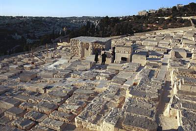 Israel, Jerusalem Mount Of Olives Art Print by Keenpress
