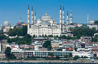 Bosphorous Photograph - Istanbul by Andrew  Michael
