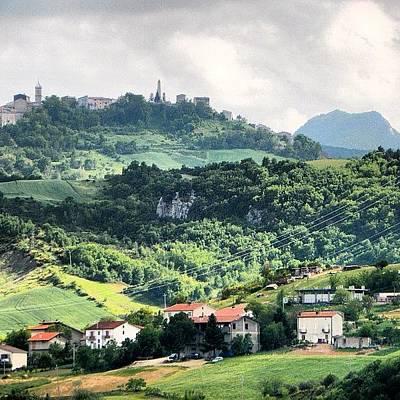 Still Life Photograph - Italian Countryside by Chi ha paura del buio NextSolarStorm Project