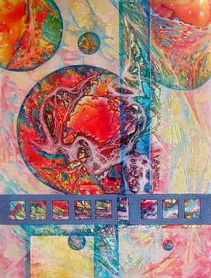 Outer Space Mixed Media - It's A New Day by David Raderstorf