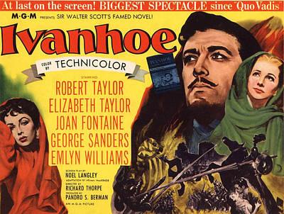 Ivanhoe, Elizabeth Taylor, Robert Art Print