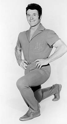 Fitness Instructor Photograph - Jack Lalanne, 1970s by Everett