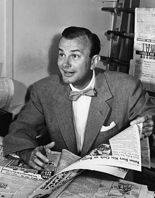 Jack Paar 1918-2004, American Art Print by Everett